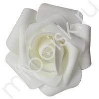 Y Декор свадебный Роза белая 12см 1шт
