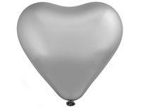 """1105-0371 Э 12"""" Сердце/803 Хром Сатин Platinum"""
