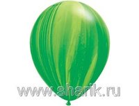 "1108-0342 Q 11"" Супер Агат Green"