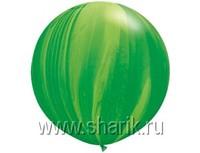 "1108-0351 Q 30"" Супер Агат Green"