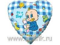 """1202-0461 Ф 18"""" Младенец мальчик(FM)"""