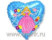 """1202-1245 Ф 18"""" Принцесса/FM"""