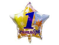 """1202-2020 Ф 18"""" РУС 1 СЕНТЯБРЯ Листья/FM"""
