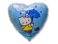 """1202-2039 Ф 18"""" Hello Kitty с зонтом/FM"""