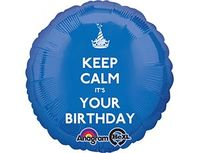 "1202-2304 А 18"" CALM IT'S YOUR BDAY S40"