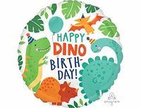 """1202-3063 А 18"""" HB Вечеринка динозавров S40"""