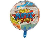 "1202-3104 Ф 18"" HAVE A SUPER BIRTHDAY Комиксы/FM"