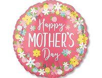 1203-0671 А ДЖАМБО Happy Mother's Day цветы P32