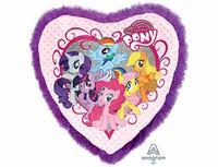 1203-0692 А ДЖАМБО My Little Pony Перья фиолет P75