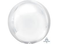 "1209-0301 А 3D СФЕРА Б/РИС 16"" Пастель White"