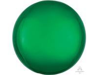 "1209-0305 А 3D СФЕРА Б/РИС 16"" Металлик Green"
