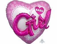 1203-0700 А ДЖАМБО Baby Girl сердце розовое P75