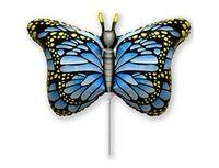 1206-1060 Ф М/ФИГУРА/3 Бабочка крылья голубые/FM