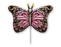 1206-1061 Ф М/ФИГУРА/3 Бабочка крылья розовые/FM