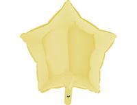 "1204-0880 Г Б/РИС ЗВЕЗДА 18"" Пастель Matte Yellow"