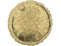 "1204-1146 А Б/РИС КРУГ 18"" Пайетки Gold"