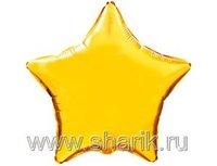 """1204-0157 Ф Б/РИС 9"""" ЗВЕЗДА Металлик Gold(FM)"""