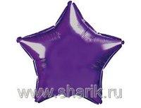 """1204-0162 Ф Б/РИС 9"""" ЗВЕЗДА Металлик Violet(FM)"""