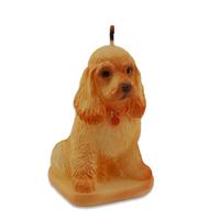 Свеча новогодняя Собака Коккер спаниель 64*66*97мм