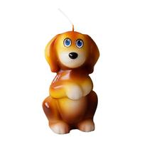Свеча новогодняя Собачка Бублик 6,5см