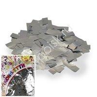 AC Конфетти 100гр 2*5см фольгированное Прямоугольники серебро
