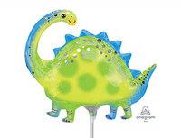 1206-1103 А М/ФИГУРА Динозавр Стегозавр зеленыйА30