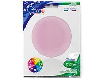 """1209-0276 Г 3D СФЕРА Б/РИС 15"""" Пастель Pink"""
