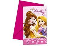 1403-0120 Приглашение Принцессы Гламур 6шт/P