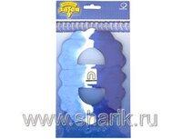 1404-0361 Гирлянда Декор 3,6м сине-бело-голубая