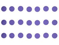1404-0518 Гирлянда н/нитке Круги фиолетовые 2,2м