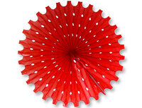 1409-0160 Фант бумажный красный 40см/G