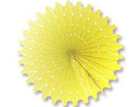 1409-0167 Фант бумажный желтый 40см/G