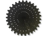 1409-0169 Фант бумажный черный 40см/G