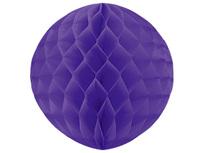 1412-0066 Шар бумажный фиолетовый 30см/G