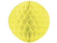 1412-0067 Шар бумажный желтый 30см/G