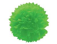 1412-0072 Помпон бумажный светло-зеленый 40см/G
