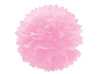 1412-0074 Помпон бумажный розовый 40см/G