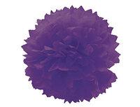1412-0075 Помпон бумажный фиолетовый 40см/G