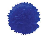 1412-0078 Помпон бумажный синий 40см/G