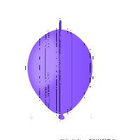 """Фиолетовый линк пастель 6"""" №08; Италия"""