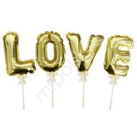 Y Шар самодув Love Gold 16см