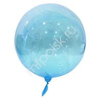 """Y 18"""" Шар-сфера Bubble Blue 1шт"""