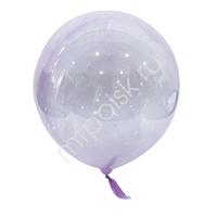 "Y 18"" Шар-сфера Bubble Purple 1шт"