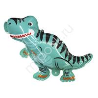 Y Шар самодув фигура Динозавр голубой 20см