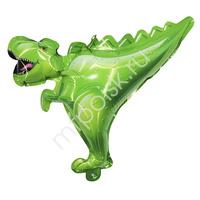 Y Шар самодув фигура Динозавр зеленый 20см