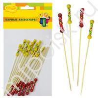 BA Шпажки для канапе бамбуковые 20шт