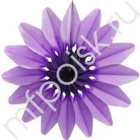 Q Бум укр Цветок Фиолетовый 50см