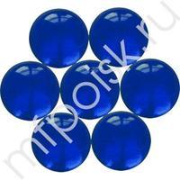 V 14мм Марблс ТИП-5A Синяя Полночь Кристалл 100шт