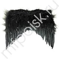 WB Крылья Ангела черные 36см х 30см