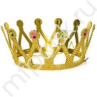 Y Корона золотая d 16см